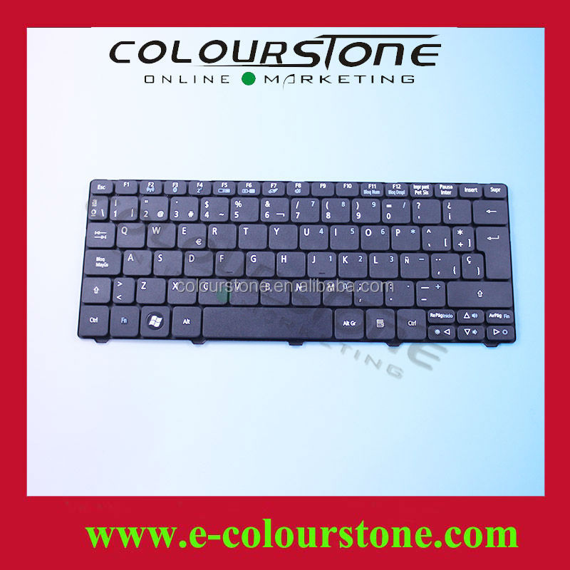 Original For Acer Aspire One 532H D255 Laptop Keyboard D257 D260 PK130AE1017