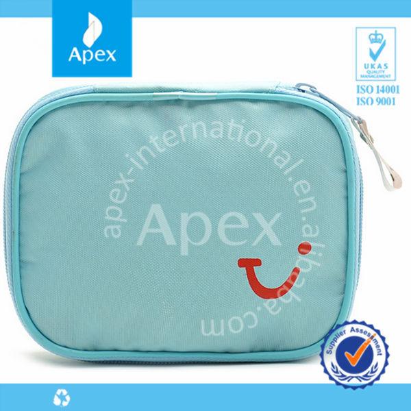 Cute Light Blue Oxford Cosmetic Bag Makeup Bag