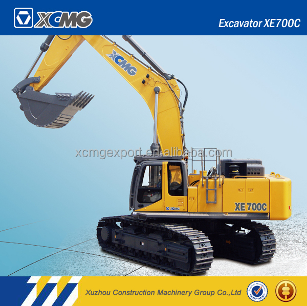 XCMG official manufacturer XE700C used crawler excavator
