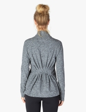 2017 OEM New Design Women Running Yoga Slim Comfy Jacket Zip Up Stretchy WorkOut Sweatshirts with Two Pockets Sports Jacket