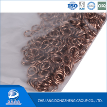 High silver brazing alloys ring welding ring