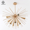 Nodic Chandeliersv Shiny Gold Big Chandelier Pendant Light Gold Home Decoration Hanging Lamp