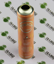Aerosol spray tin can iron bottle for hair care