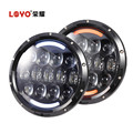 "LOYO Most Popular 105W Osram 7"" Jeep Wrangler LED Headlights"