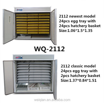WQ-2112 Automatic chicken egg incubator for sale