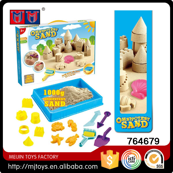 1000g castle and ocean space magic modeling sand indoor beach toy