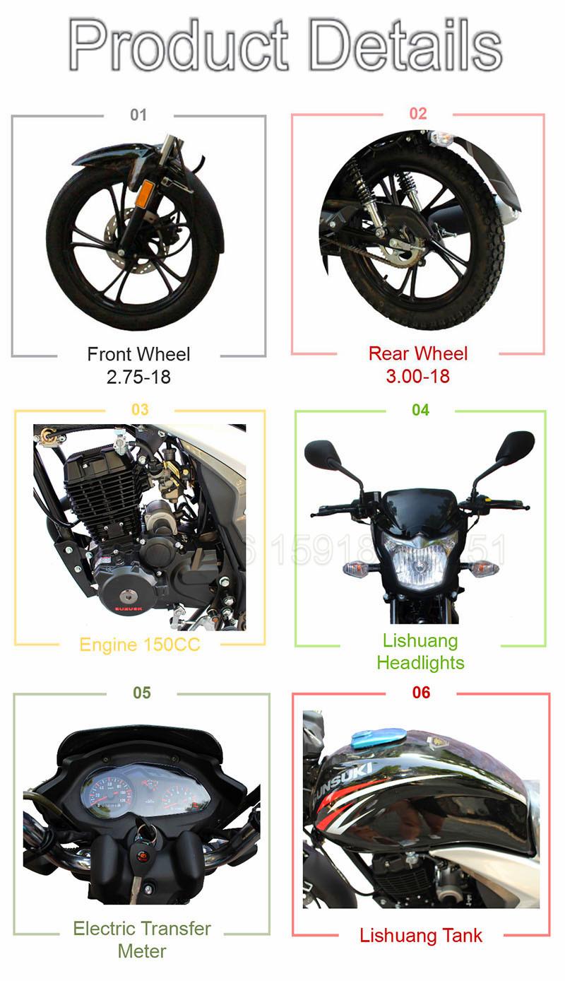 KAVAKI Avant Disque Arrière Tambour De Frein Pas Cher Moto Démarrage Électrique Moto Pour Adultes