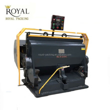 MJRY-1 Manual Creasing and Die Cutting Machine Platen Die Cutter with high quality