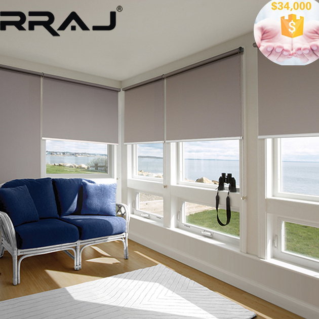 RRAJ Black out Double Sided Roller Blinds