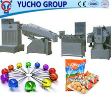 China Big Factory Good Price Irregular Lollipop Forming And Packaging Line