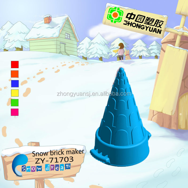 New toys 2012 outdoor plastic snow toys for kids