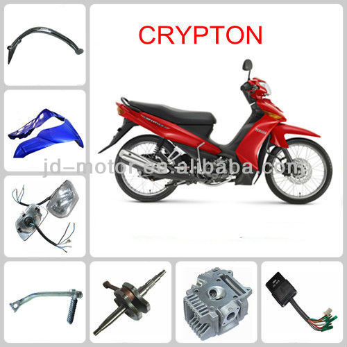 motorcycle CRYPTON accessories
