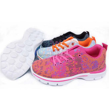 Small MOQ woman casual running sports shoes sneakers shoes