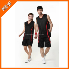 latest style custom team basketball singlet