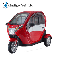 Electric Passenger Vehicles 3 Wheel Motorcycle with Cabin
