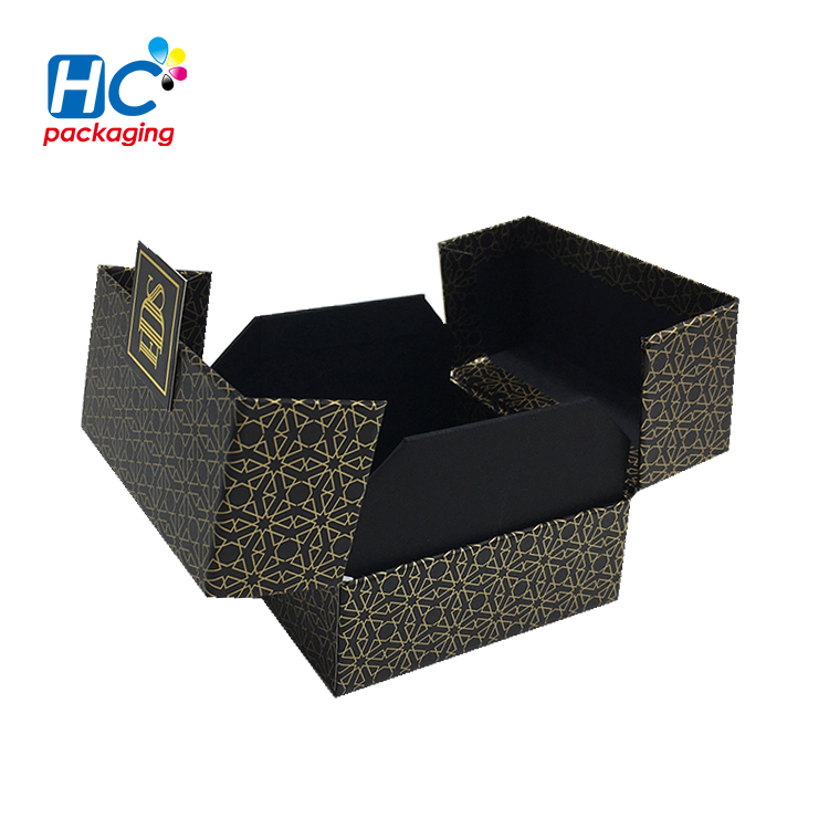 Wholesale Custom Retail Paper Luxury Candle Clamshell packaging