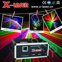 Outdoor RGB animation DJ light / High power laser show system/ OEM wholesale stage laser