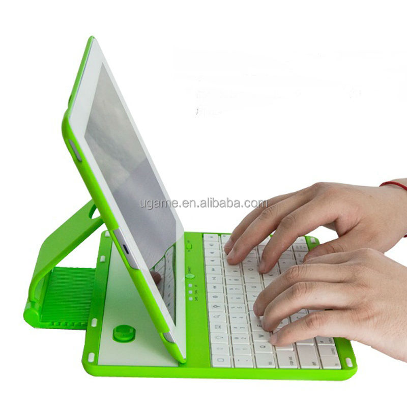 360 Swivel Rotating Stand Case Cover Bluetooth Keyboard for iPad 3 4