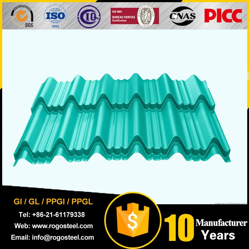 High Quality Corrugated GI Sheet Price Zinc Corrugated Roofing Sheet