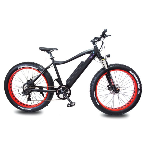 China New product 48v 500w fat tire ebike for snow beach