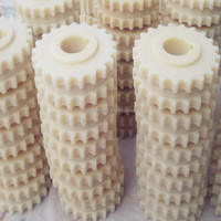 Self-lubricating nylon gear and nylon products