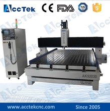Jinan AccTek 2030 big size stone CNC router / CNC router wood stone marble engraving/granite engraving machine