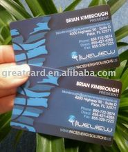 UV printing business name card