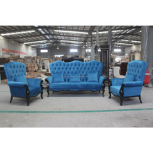 Modern sofa set pictures wood living room sofa furniture XYN5322