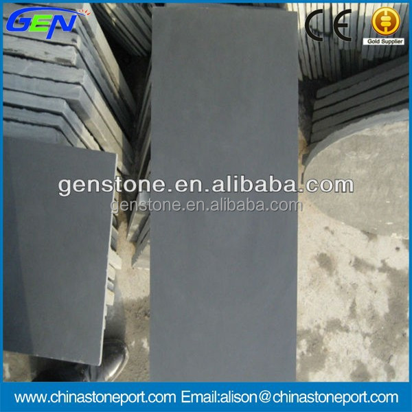 China Honed Grey Slate Roofing Tiles