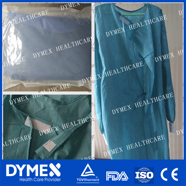 Gown hospital Operation Sterilized Clothes medical surgical gown with sleeve white surgical gown with cap