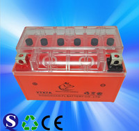 YTX7A motorcycle battery 12V 7ah battery for motorcycle