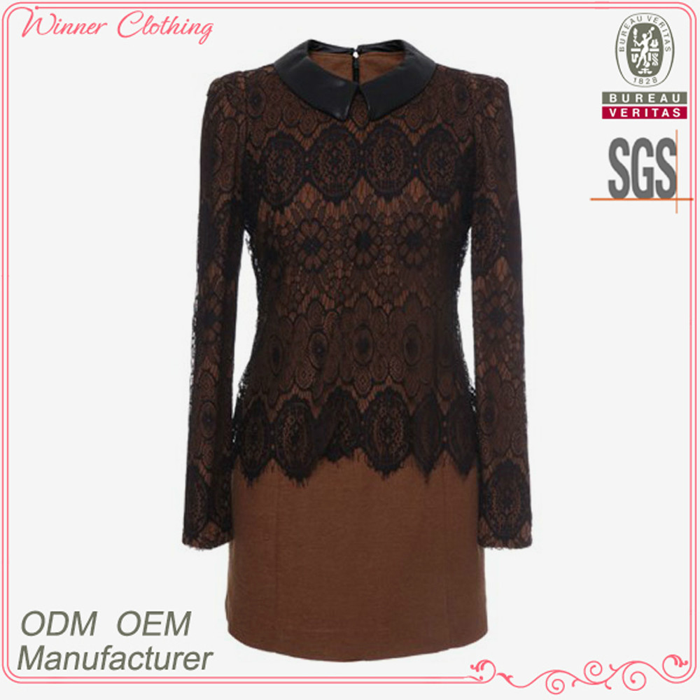 New fashion women's clothing garment apparel direct factory OEM/ODM manufacturing high quality office wear dress