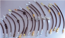High pressure steel braided line truck air brake hose