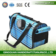 Qingquan Manufacturer Foldable Soft Dog Kennel Pet Carriers / Pet Carrier / Cute Dog Carrier Bag