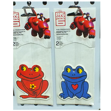 Absorbent paper car air freshener/recycled paper car cartoon air fresheners