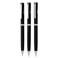 Classical ball pen 2018 new design steel metal body ballpoint pens for hotel
