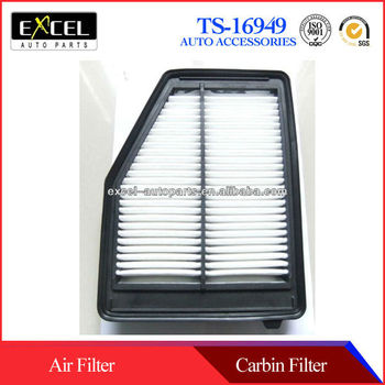OEM Quality Auto Air Filter for Honda Civic ,OEM:17220-R1A-A01