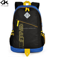 2016 Hot new high quality new design waterproof nylon student school backpack