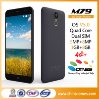 new 2016 M79 MTK6735 Quad Core 5.5 Inch Android 5.1 4G LTE telefonos celulares