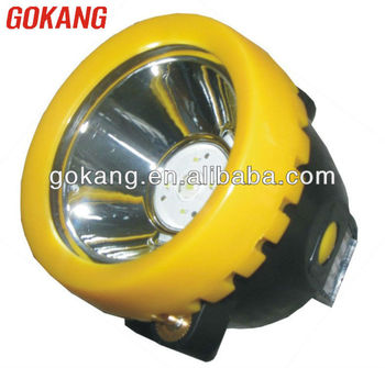 KL1.2LM(A) cordless miner cap lamp