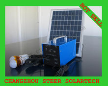 PV solar module home lighting system for indoor
