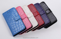 crocodile pu leather flip case for iPhone 6 6 plus China supplier