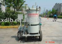Two-component structural road marking machine