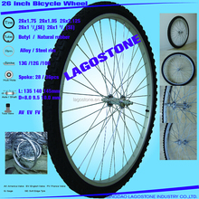 26 Inch Bicycle wheel (26x2.125 , 26x1.95, 26x1.75, 26x13/4, 26x11/2, 26x13/8)