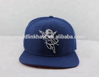 customized your own design navy 20% wool 80% acrylic blend snap back snapback hat and cap