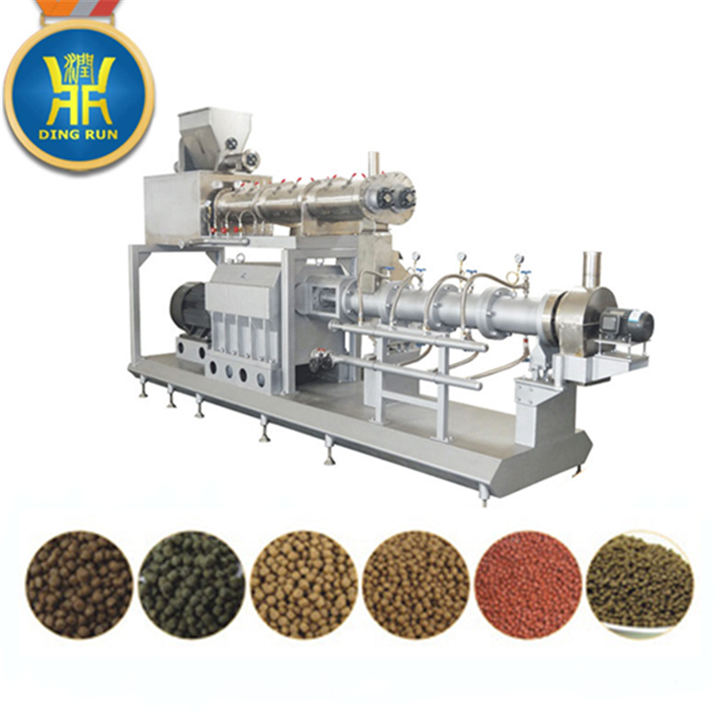 New small pet cat dog food extrusion machine with high quality