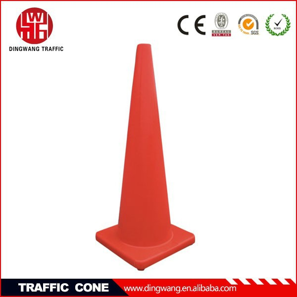 900MM Red PVC Soft Protable Traffic Cone