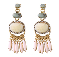 2017 freestyle jewelry large beaded earrings jewelry women costume common jewelries new design