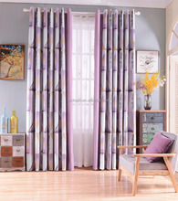 New arrival soft yarn dyed shading curtain for Jane decorating