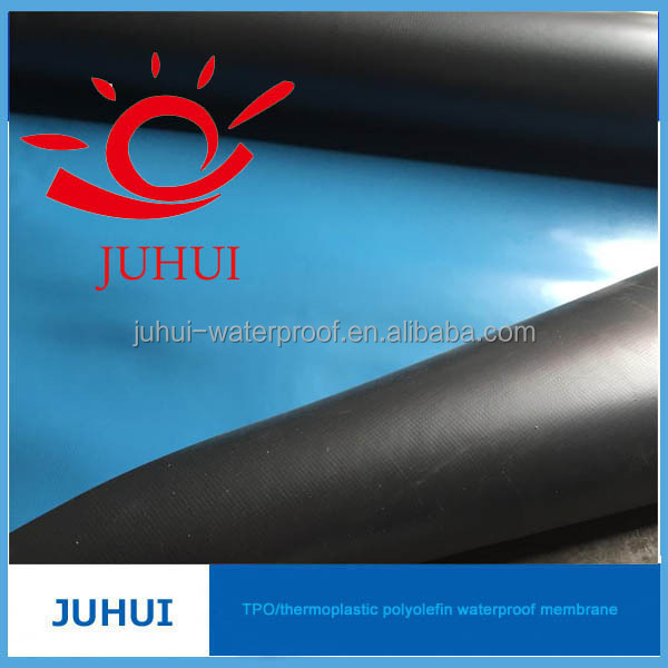 Elastomeric Sheet Waterproofing : Good quality elastomeric tpo waterproof sheet buy